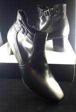 womens boots size 9 1 2 s block heel east 5th ebay