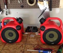 Cool Speakers Gas Can Speakers Speaker Kits Speakers And Garage Ideas