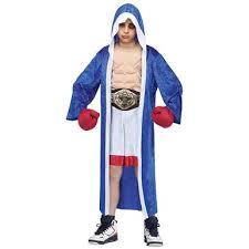 Boxer Halloween Costumes Boys Boxing Champion Costume