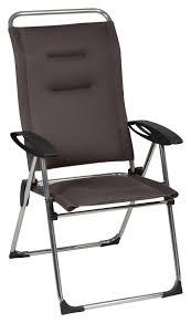siege pliant lafuma lafuma cham elips fauteuil de jardin pliant à seulement 79 95