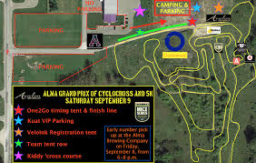 Michigan Brewery Map by Alma Grand Prix Of Cyclocross 2017