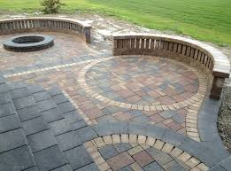 Slate Patio Designs Outdoor Garden Dazzling Patio Paver Design With Slate Picture