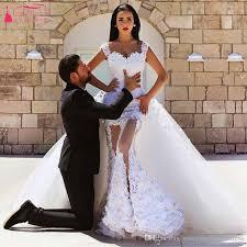 sexiest wedding dress white mermaid wedding dresses the shoulder bridal