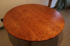 Round  Oval Extension Tables Handmade In Vermont From Cherry - Maple dining room tables