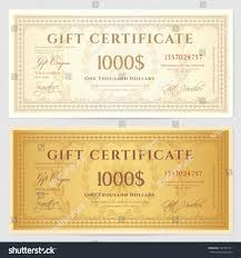 Free Blank Gift Certificate Templates Sample Of Gift Certificate Best Seller Gift Review