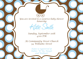 Church Baby Shower - baby shower boy invitations marialonghi com