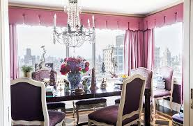 Hues Of Purple Inside The Stunning Home Of The Ultimate A List Decorator U2013 One