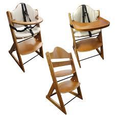 Wooden Doll High Chair 13 Toy High Chair Wooden Baby High Chair 3in1 With Tray And