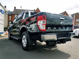 ford ranger limited 2 2 used 2017 ford ranger limited 2 2 manual in panther black sat nav