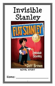 flat stanley invisible stanley jeff brown novel study reading