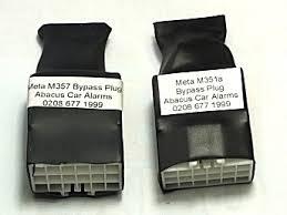 abacus car alarms web shop meta m35 range bike alarm bypass plug