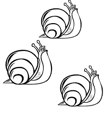 snail coloring pages to download and print for free