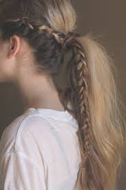 easiest type of diy hair braiding 41 diy cool easy hairstyles that real people can actually do at