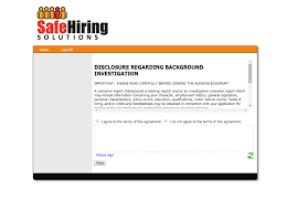 safe hiring solutions background screening