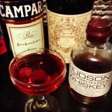 campari bottle campari and bourbon cocktail recipe