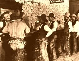cowboys at a tascosa texas saloon grew up smack dab in the