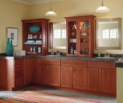 Cherry Cabinets In Kitchen Light Cherry Cabinets In Galley Kitchen Schrock