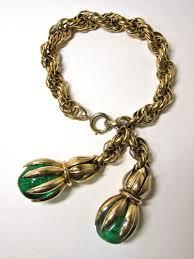 vintage jewelry bracelet images 29 best napier vintage charm bracelets images charm jpg