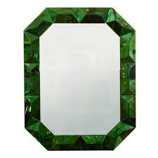 Emerald Green Home Decor Unique Green Framed Mirrors For A Cheerful Home Decor