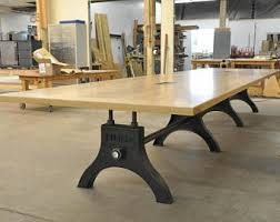 Antique Boardroom Table Vintage Industrial Hure Conference Table Antique
