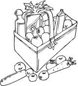 coloring pages of food food coloring pages free coloring pages