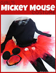 2t Mickey Mouse Halloween Costume Darling Homemade Toddler Girls Halloween Costumes Mickey Mouse