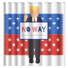 Flag Suit Wimaha Mischievous Donald John Suit Trump Shower Curtain U2013 Wimaha