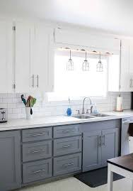 black lower kitchen cabinets white 25 timeless grey and white kitchen designs digsdigs