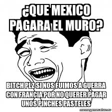 Bitch Plz Meme - meme yao ming 2 que mexico pagara el muro bitch plz si nos