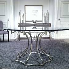 charming 60 inch round glass top dining table 45 with additional