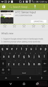 htc ime apk new app htc publishes its sense keyboard on the play store