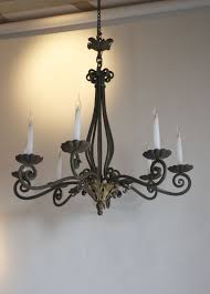 antique chandelier french antique chandelier in painted iron