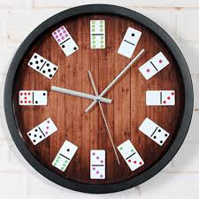 Clock Design Online Shop Original Classical Mahjong Fashion Round Wall Clock