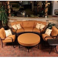 Patio Furniture Round Circular Patio Furniture Gccourt House