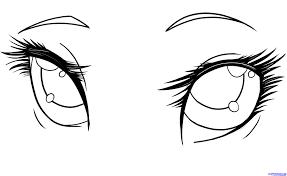 anime vampire eyes drawings