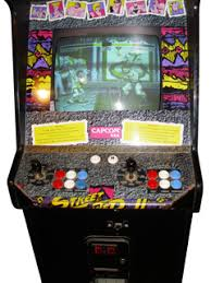 japanese arcade cabinet for sale street fighter ii the world warrior videogame by capcom