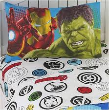3 pc twin cotton rich marvel avengers sheets set u2013 superhero sheets