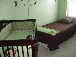 Baby Crib Next To Bed Baby Room Is Ready The Of Angelo