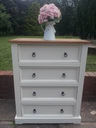 Mexican Pine Bedroom Furniture by Re Loved Painted Mexican Pine Chest Of Drawers By Farmhouse