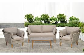 salon de veranda en osier emejing salon de jardin rotin blanc images amazing house design