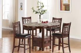 tall round kitchen table black dining table set small high and chairs white top tall round