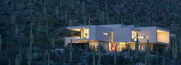 kevin b howard architects integrates home into desert at sabino