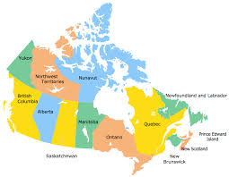 map if canada geo map canada ontario