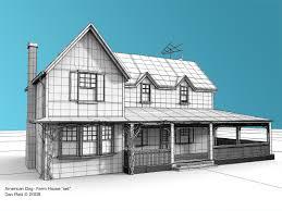 dan platt character modeler farmhouse
