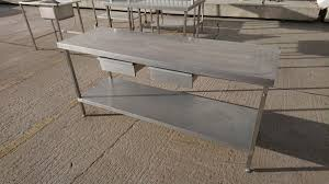 used stainless steel tables for sale antiques bazaar h2 products somerset used stainless steel
