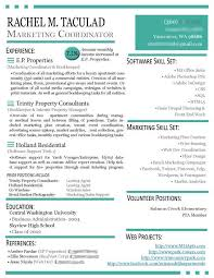 Brand Ambassador Job Description Resume by Resume For Marketing Job Template Billybullock Us