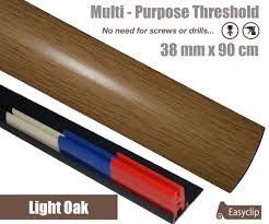 Laminate Flooring Transition Pieces Multi Purpose Thresholds Strips Quality Laminate And Veneers