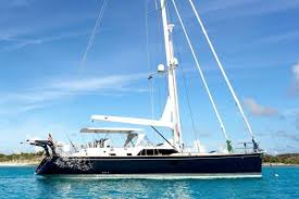 Sailboat Sun Awnings Blue Star Crewed Sailing Yacht Charter Boatsatsea Com