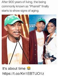 Pharrell Meme - after 900 years of living the being commonly known as pharrell
