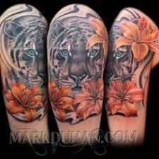 my new tiger lily tattoo tattoos pinterest tiger lily
